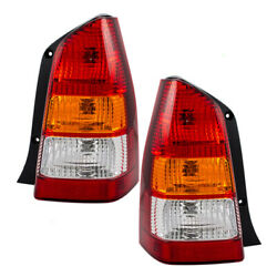 New Pair Set Taillight Taillamp Assembly Dot Stamped 01-04 Mazda Tribute