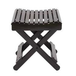 Hot Style Bath Shower Stool Seat Bathtub Spa Bench Chair Bamboo Wood Foot Rest