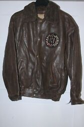 Retro Detroit Red Wings G-iii/carl Banks Collar Changeable Leather Jacket New Md