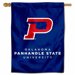 Oklahoma Panhandle State University Two Sided House Flag