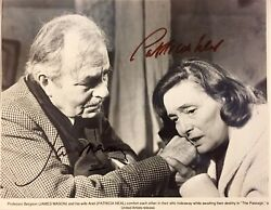 The Passage James Mason And Patricia Neal Autographed 8x10 Movie Still.