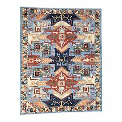 9and0392and039and039x11and0398and039and039 Hand-knotted Peshawar With Kazak Design Oriental Rug R38376