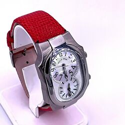 Philip Stein Large Dual Time Watch