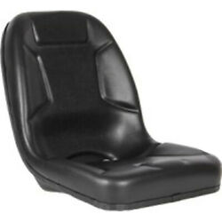 High Back Black Seat Fits John Deere 650 750 850 950 And 1050 Compact Tractor