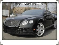 2017 Bentley Continental GT 2dr Cpe 2017 Bentley Continental GT 2dr Cpe 5324 Miles Black  4.0L V8 DOHC 32V Automatic