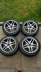 4 Mercedes S550 Amg Original 19inch Rim's And Michelin Tires