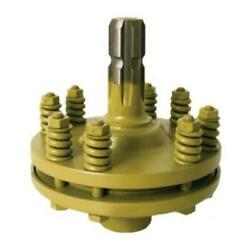 Slip Clutch Adapter Kit- 1-3/8 6 Spline On Male And Female End. Tractor Pto Clutch
