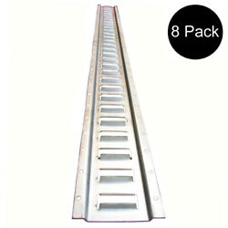 8x 5and039 Galvanized E-track For Enclosed Trailers - Cargo Trucks - - Haulers