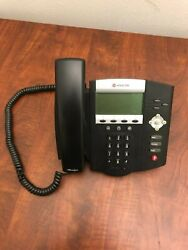 Polycom Soundpoint Ip450 Poe Voip Phone Lot Of 10