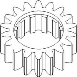 70246545v Tractor Reverse Countershaft Gear Fits Allis Chalmers 180 185 190 200