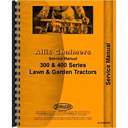Service Manual Made Fits Allis Chalmers Ac Lawn And Garden Tractor Model 414s