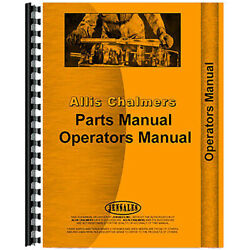 Aftermarket Operators/parts Manual Fits Allis Chalmers Lawn And Garden Tractor Mod