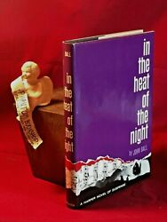 John Ball In The Heat Of The Night 1st F/f Signed-beautiful Copy-very Uncommon
