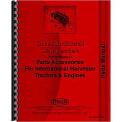 Accessories Parts Manual For Ih-p-accessory Mccormick Deering W6 Tractor