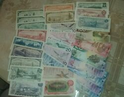29 Different Canadian Banknotes 1954 1974 1986 2002 2005 Versions Value Pack C