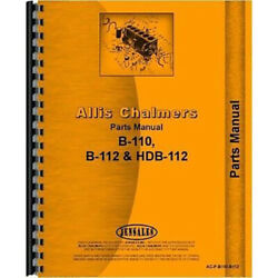 Parts Manual Fits Allis Chalmers Hb-112 Lawn And Garden Tractor
