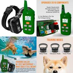 Tbi Pro Professional K9 Dog Training Collar With Remote Long-Range E-Collar With
