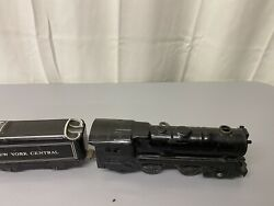 Vintage Marx Tin Train Set New York Central Wind Up But Doesn't Work