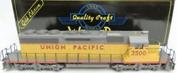 ✅weaver Union Pacific Sd40-2 Non-powered Diesel Engine W/ Lionel Type Couplers