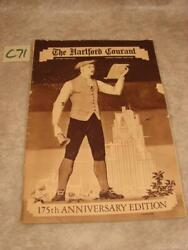 C71g Vintage October 29, 1939 The Hartford Courant 175th Anniversary Edition