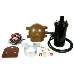 Electronic Ignition And Coil Conversion Kit Fits Ford 2n 8n 9n Tractor 6 Volt