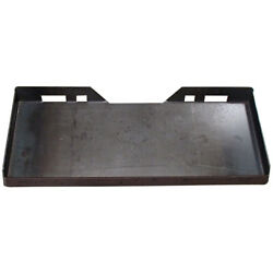 1/4 Universal Quick Attach Mounting Plate For Skid Steer Fits Bobcat Fits Kubot