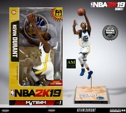Mcfarlane Nba 2k19 Team Series 1- Kevin Durant Golden State Warriors - New/boxed