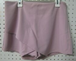 New Altarand039d State Skort. Shorts/skirt Combo. Dusty Rose With Side Zip. S M Or L