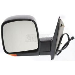 Fits 03-07 Chevrolet Express Or Savana Van Driver Side Mirror Replacement - Sign