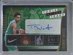 2019 Panini Absolute Memorabilia Level 5 1/1 Tremont Waters Tt4-twt Rookie Auto