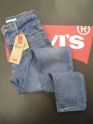 LEVI'S 721 WOMEN'S SKINNY FIT HIGH RISE ZIP FLY STRETCH JEANS MAKE OR BRAKE