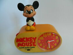 Vintage Concept 2000 Mickey Mouse Am/clock Radio Model 409 – Working