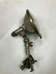 Vintage Lamp Early Old Search Spot Lamp Light Glass Unique Mount Motorcycle Car