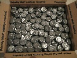 1500 Coors Light Silver White Beer Bottle Caps Crown Arts Crafts Clean Pong Bar