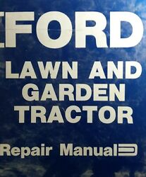 Ford Lgt 100 120 125 145 165 195 Garden Tractor Master Repair Service Manual 3rd