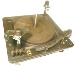 Vintage Zenith 10-s- Working 78 Rpm Automatic Changer Record Player - No Cart