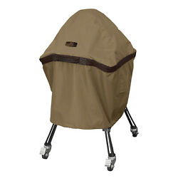 Classic Accessories Hickory Heavy Duty Kamado Ceramic Bbq Grill Cover X Large