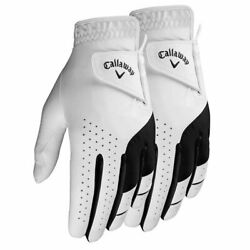 New Callaway 2-pack Weather Spann Men's Golf Gloves -pick Size-free Shipping