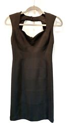 Black Dress Sz 0 Short Mini Cocktail Party Evening White House Black Market $29.00