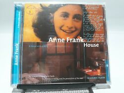 Anne Frank - House Pc+mac Cd Rom 2000 Rare Import Made In Europe Sealed Vhtf New