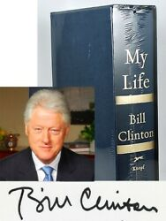 Bill Clinton My Life Signed Limited Deluxe Edition Only1500 Sealed Slipcase