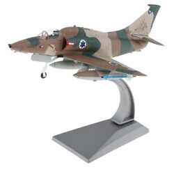 1:72 Metal A 4 Skyhawk Airplane Model with Display Stand Home Collectible