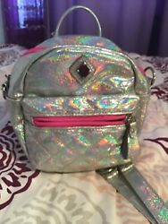 Claires Holigraphic Cross Body Purse For Girls