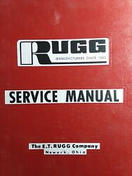 Rugg Riding Mower Implement Snow Thrower Dozer Plow Parts Manual 410 4139 4215