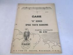 Case R Series Spike Tooth Harrow Parts Catalog A761