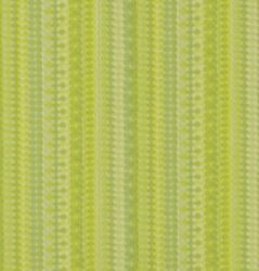 1960s 1970s Green Geometric Giant Striped To The Sky Vintage Original Wallpaper
