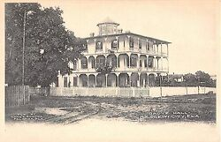 1908 Grove Hall Crescent City FL post card