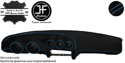 Blue Stitching Dash Dashboard Luxe Suede Cover Fits Datsun 260z 2+2 Jf1