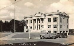 1930's RPPC City Hall & Fire Department? Leesburg FL