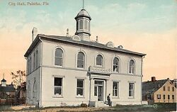 c.1910 City Hall Palatka FL post card
